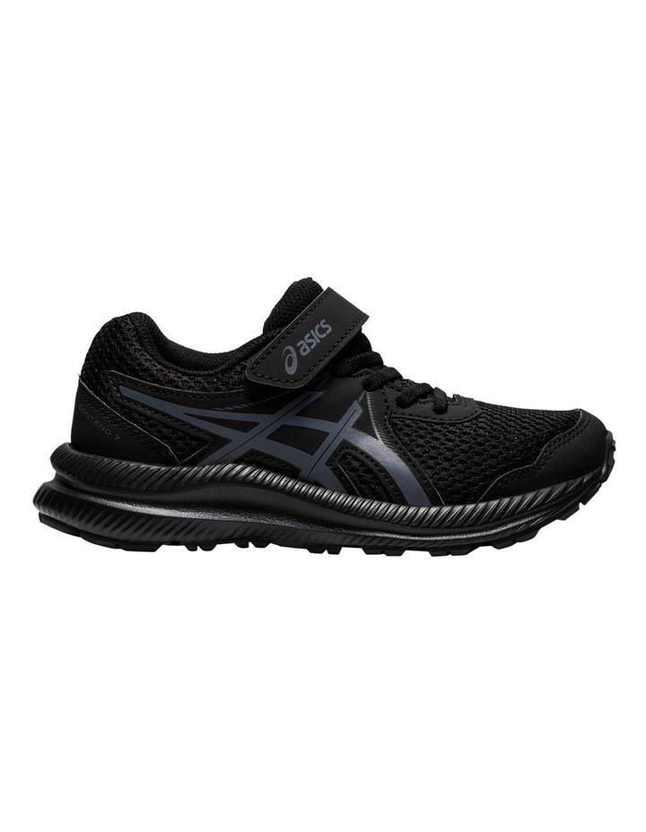 Contend 7 Black Pre School Boys Sports Shoes image 1