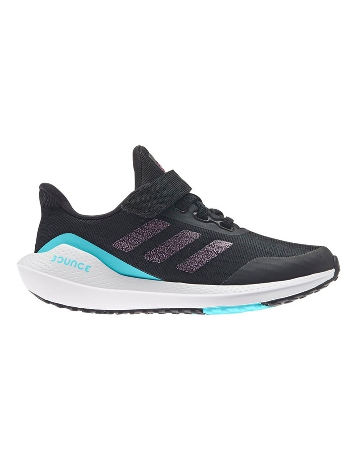 EQ21 Run K Pre-School Black Sport Shoes image 1