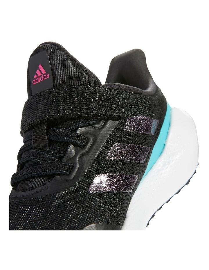 EQ21 Run K Pre-School Black Sport Shoes image 3