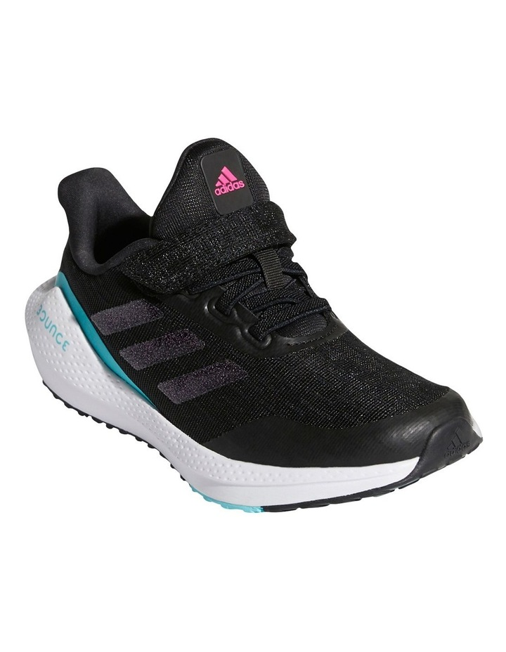 EQ21 Run K Pre-School Black Sport Shoes image 4