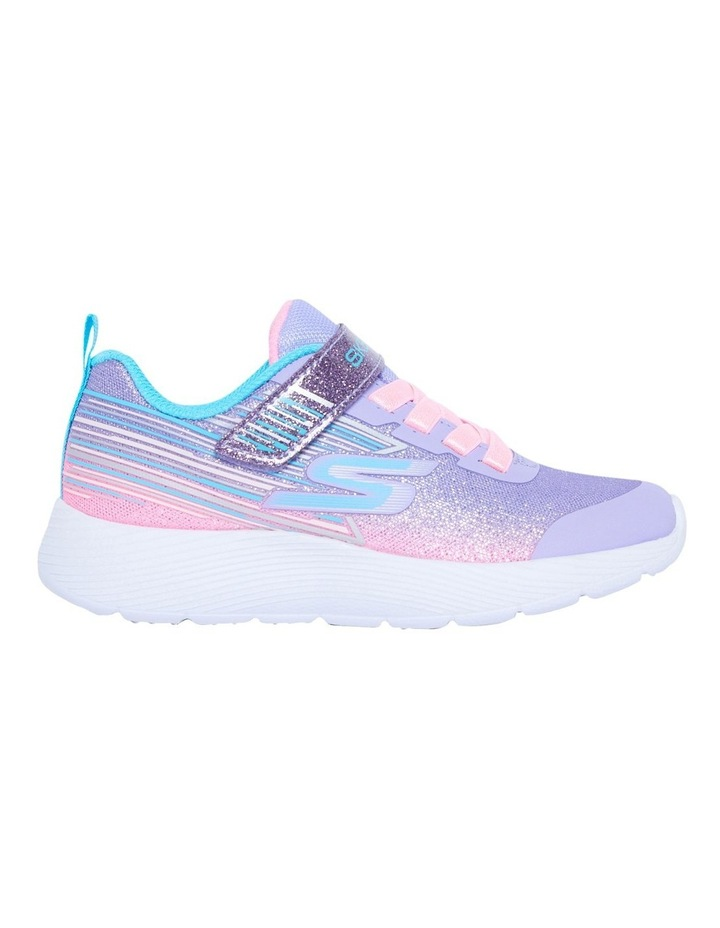 Dyna-Lite Shimmer Streaks Youth Lavendar Sneakers image 1