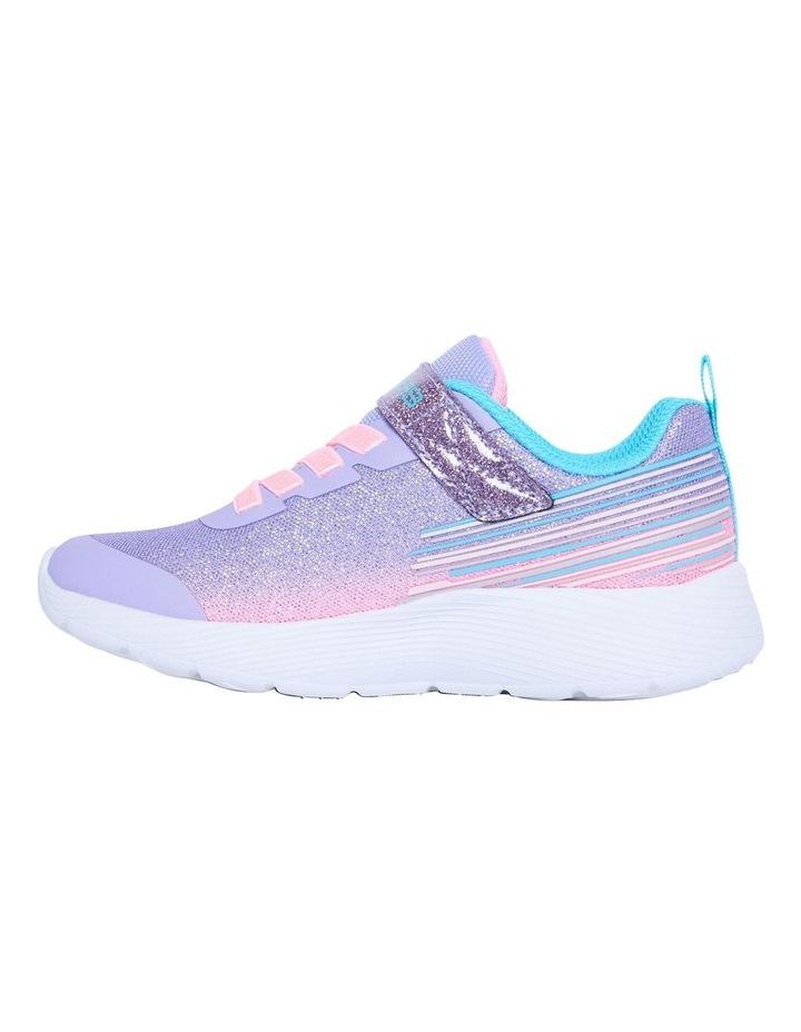Dyna-Lite Shimmer Streaks Youth Lavendar Sneakers image 2