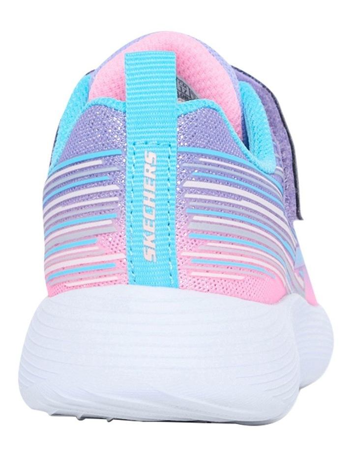 Dyna-Lite Shimmer Streaks Youth Lavendar Sneakers image 3