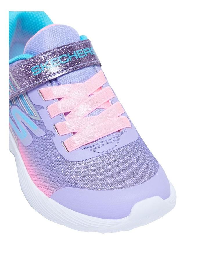 Dyna-Lite Shimmer Streaks Youth Lavendar Sneakers image 4