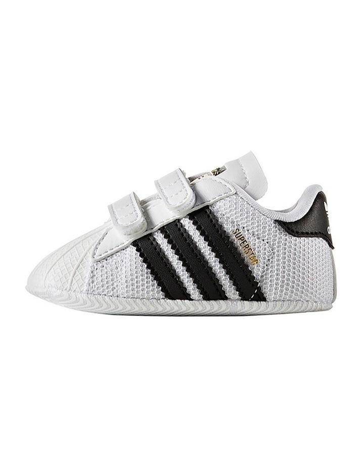Adidas superstar crib shoes size 3