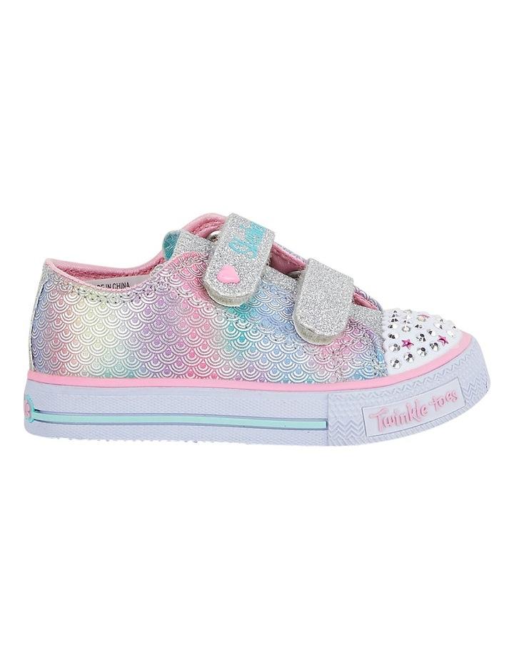 SKECHERS Toddler Girls' Twinkle Toes: Shuffles Ms. Mermaid Sneakers