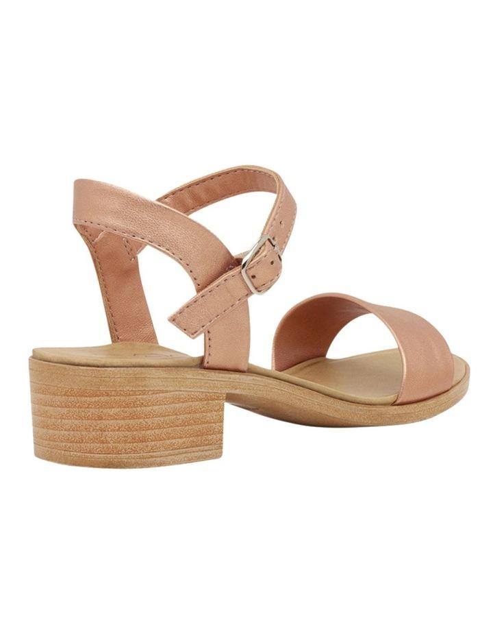 Mondo Rose Gold Sandals image 2