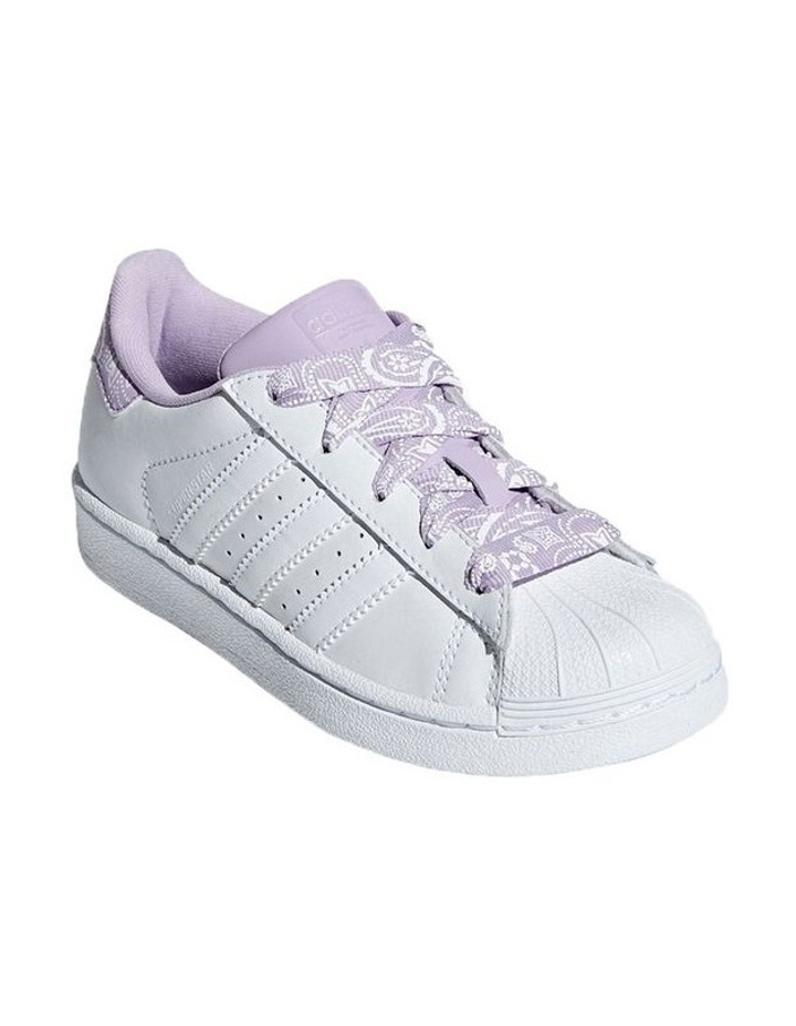 Superstar Foundation Ps Girls Sneakers image 3