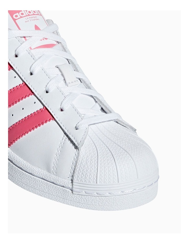 Superstar Foundation Grade School Girls Sneakers image 4