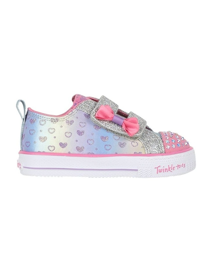 Shuffles Sparkly Hearts Infantant Sneakers image 1
