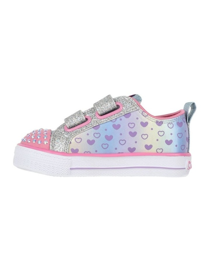 Shuffles Sparkly Hearts Infantant Sneakers image 2