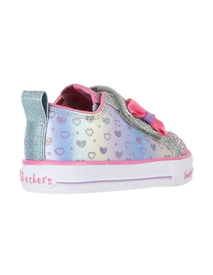 Shuffles Sparkly Hearts Infantant Sneakers image 3