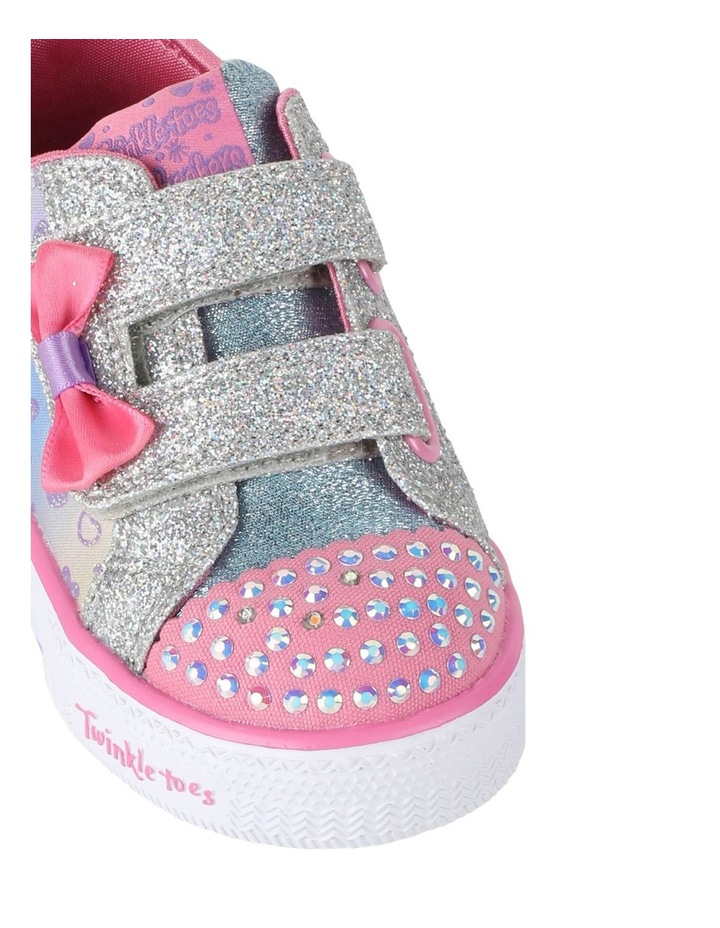 Shuffles Sparkly Hearts Infantant Sneakers image 4