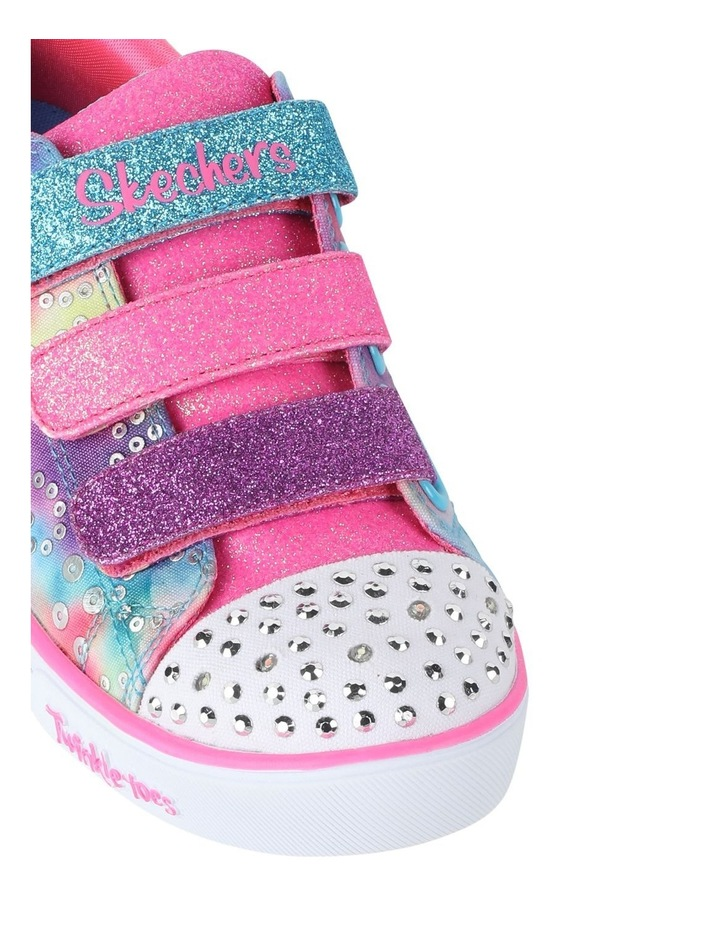 Sparkle Rainbow Brights Youth Sneakers image 4