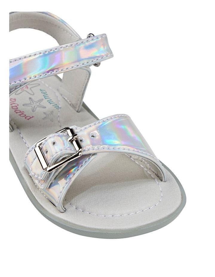 Tinkerbell Metallic Sandal Youth image 4