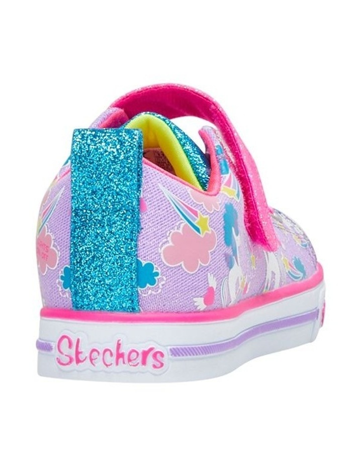 Twinkle Toes Sparkle Friends Youth Girls Sneakers image 2
