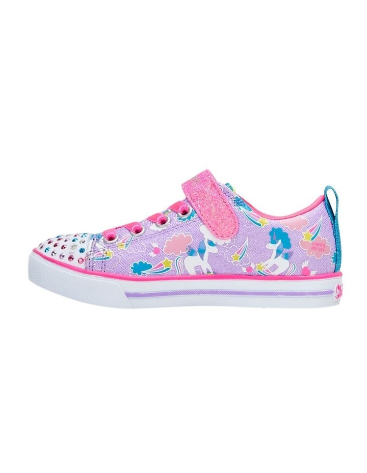 Twinkle Toes Sparkle Friends Youth Girls Sneakers image 3
