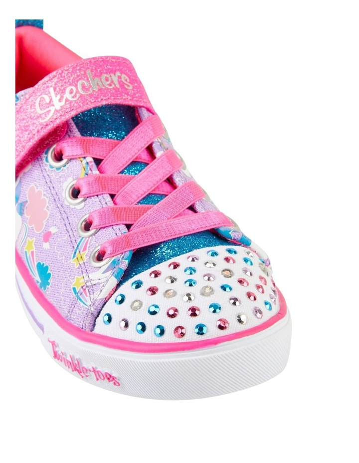 Twinkle Toes Sparkle Friends Youth Girls Sneakers image 4