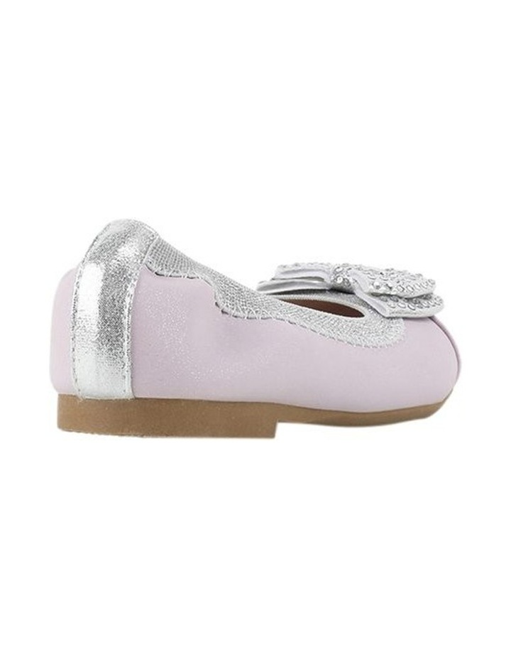 Charm Sequin Bow Girls Ballet Flat image 3