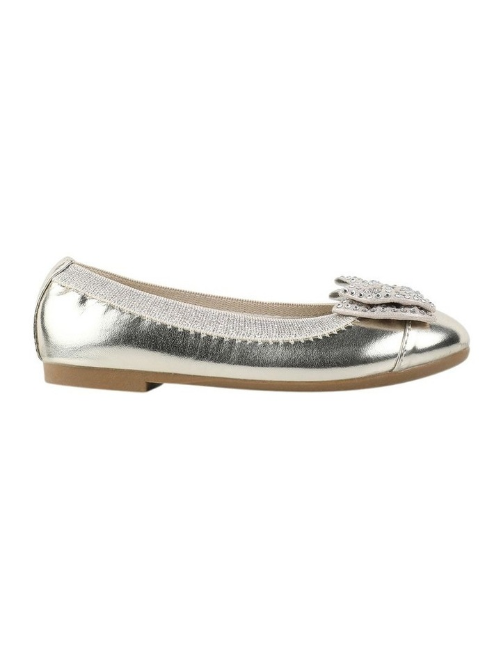 Charm Sequin Girls Bow Ballet Flats image 1