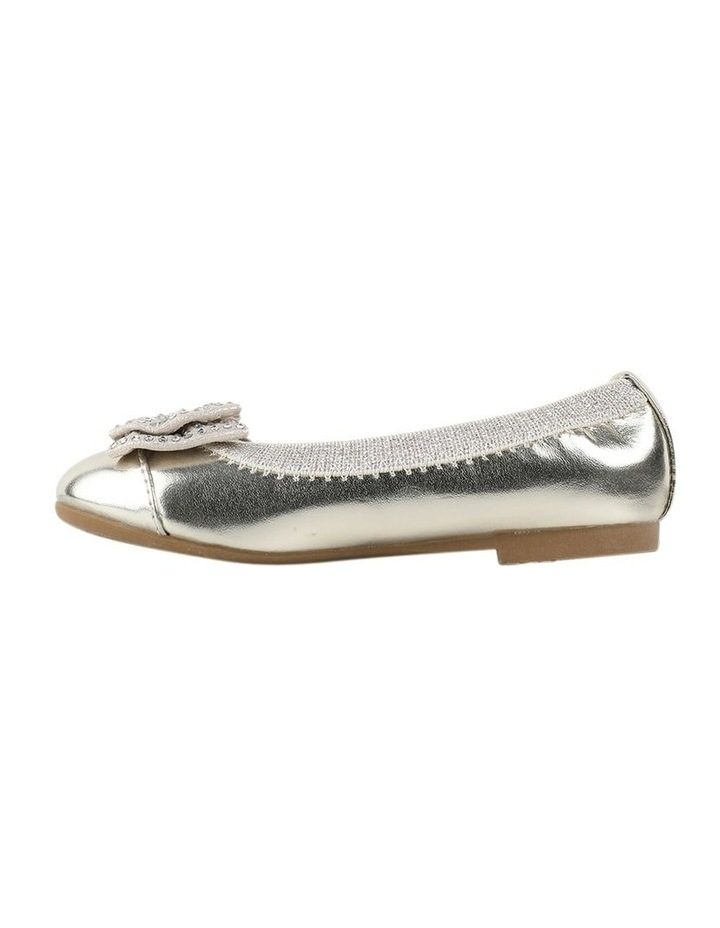 Charm Sequin Girls Bow Ballet Flats image 2