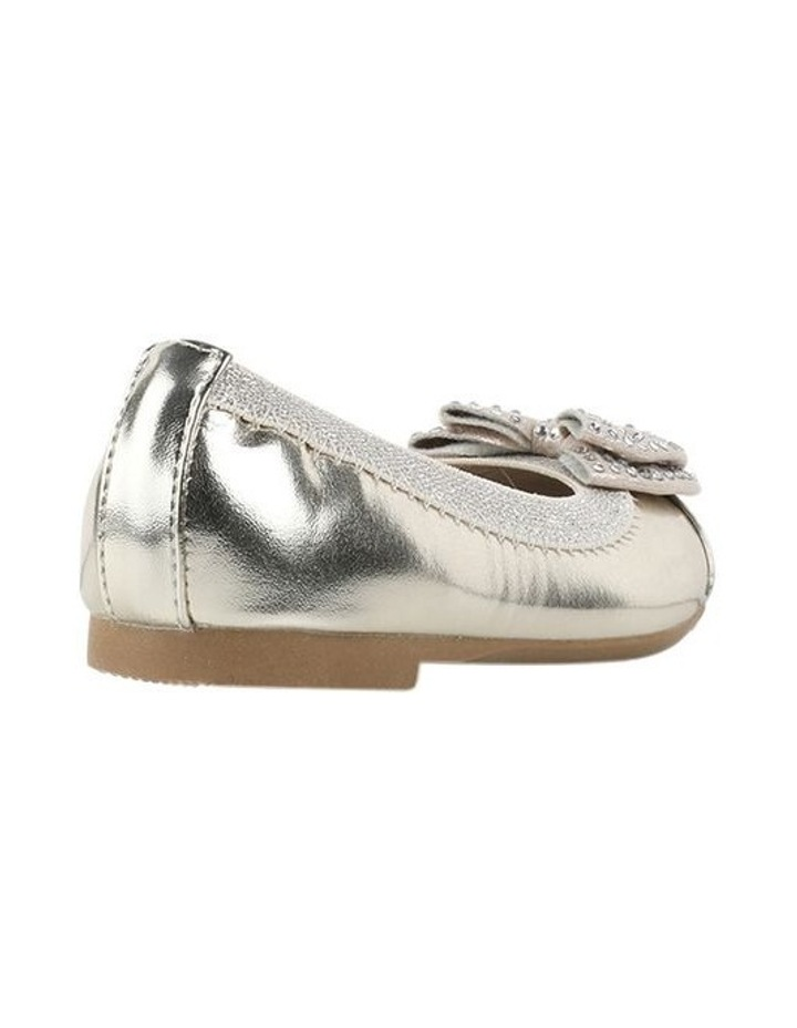 Charm Sequin Girls Bow Ballet Flats image 3