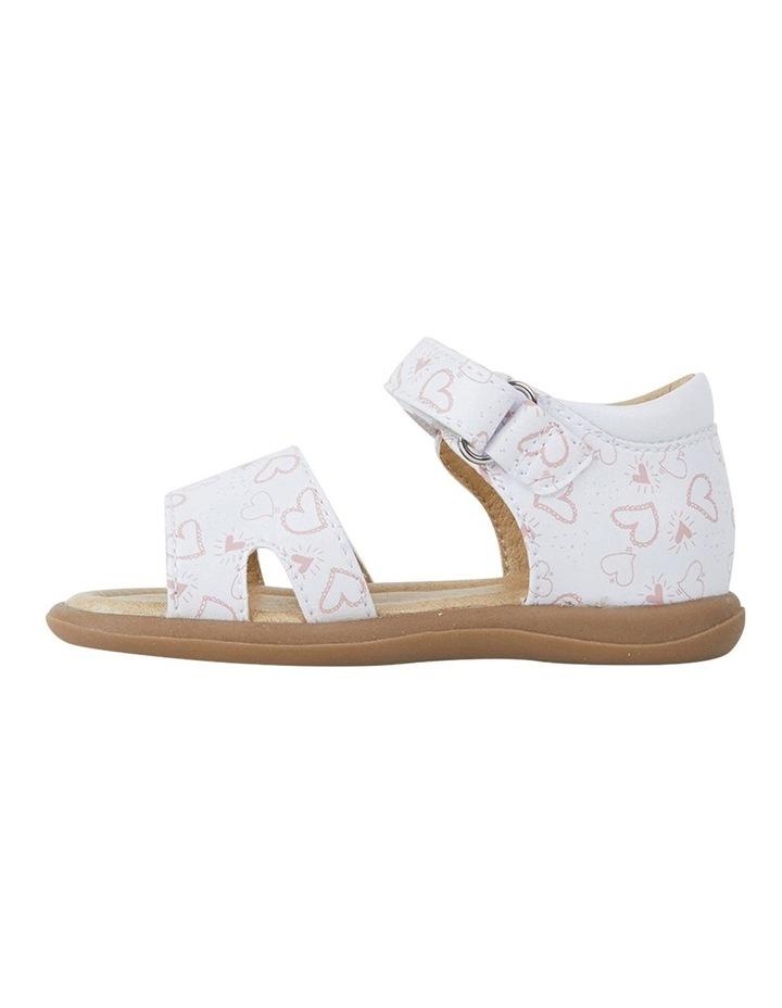 Jane Heart Print Infant Girls Sandals image 2