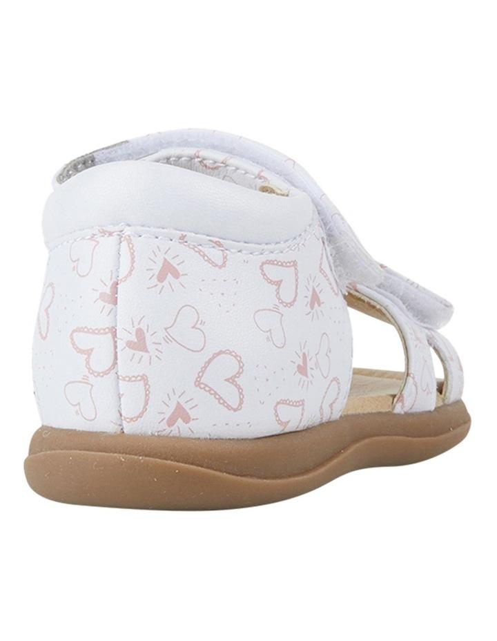 Jane Heart Print Infant Girls Sandals image 3