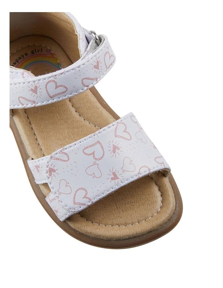 Jane Heart Print Infant Girls Sandals image 4