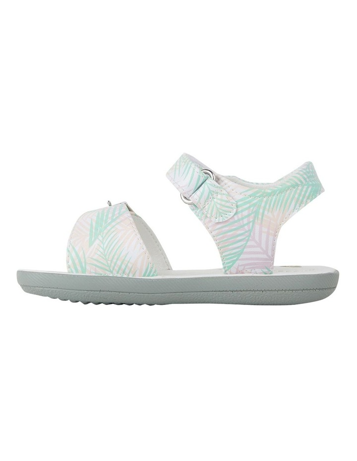 Tinkerbell Fern Print Youth Girls Sandals image 2