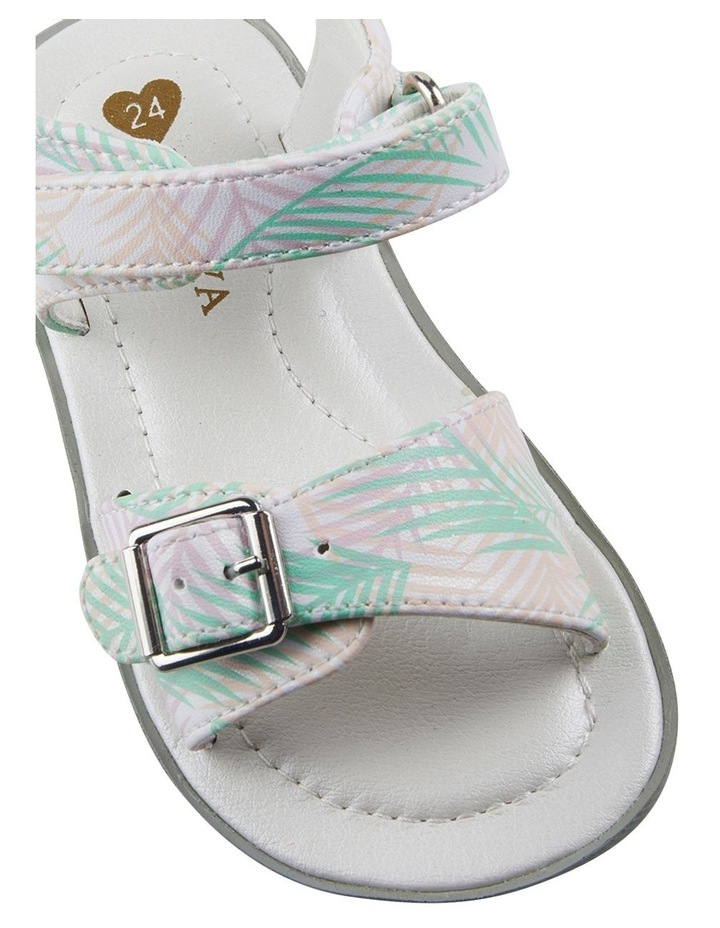 Tinkerbell Fern Print Youth Girls Sandals image 4