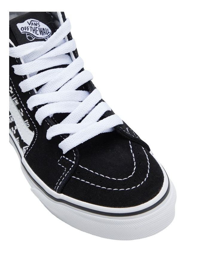 SK8-HI Zip Logo Youth Boys Sneakers image 4