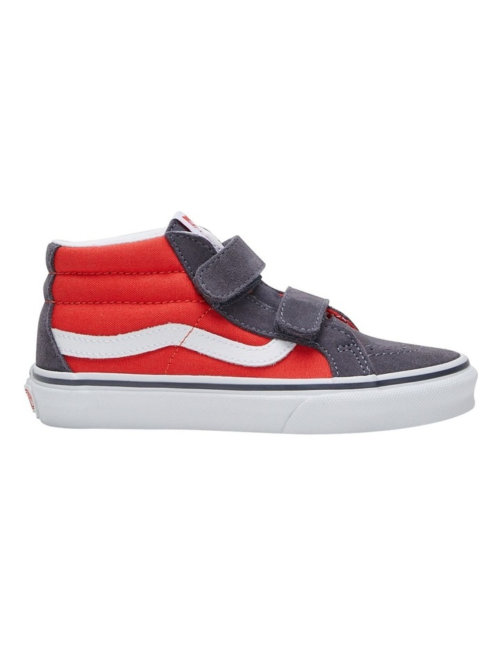 SK8-MID V 2 Tone Youth Boys Sneakers image 1