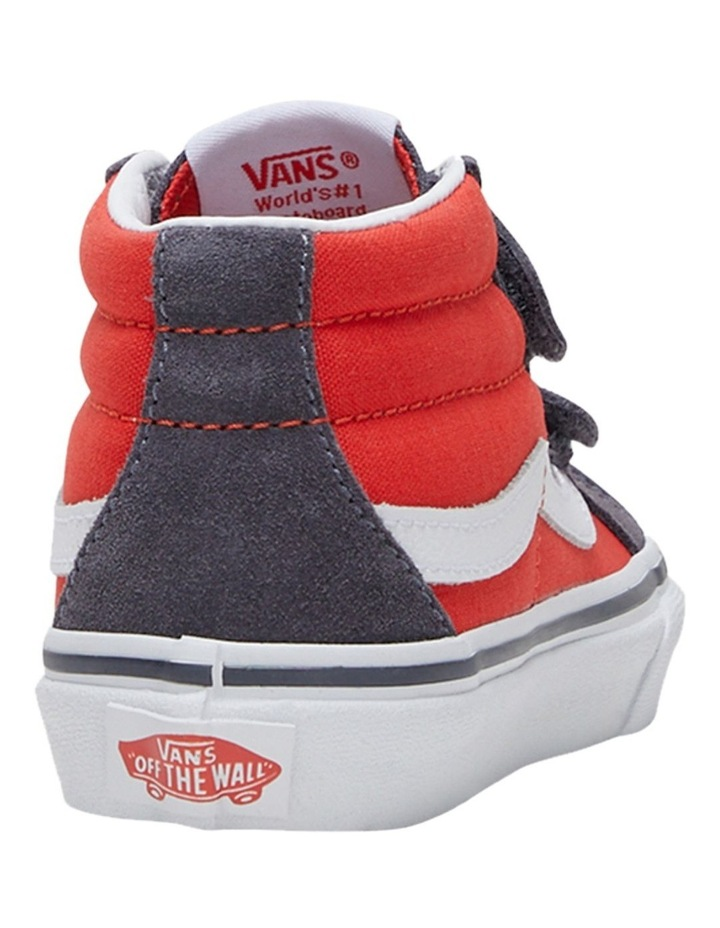 SK8-MID V 2 Tone Youth Boys Sneakers image 2