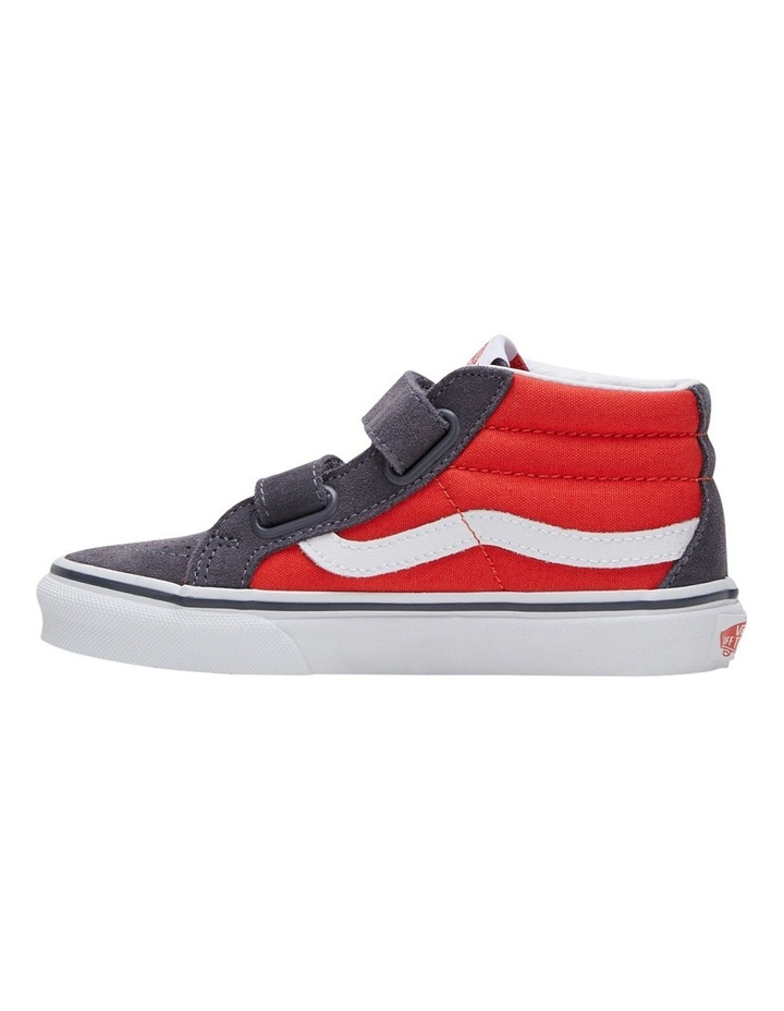 SK8-MID V 2 Tone Youth Boys Sneakers image 3