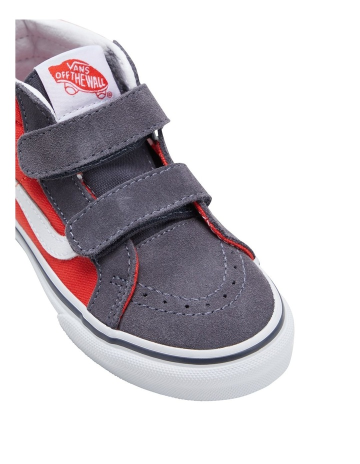 SK8-MID V 2 Tone Youth Boys Sneakers image 4