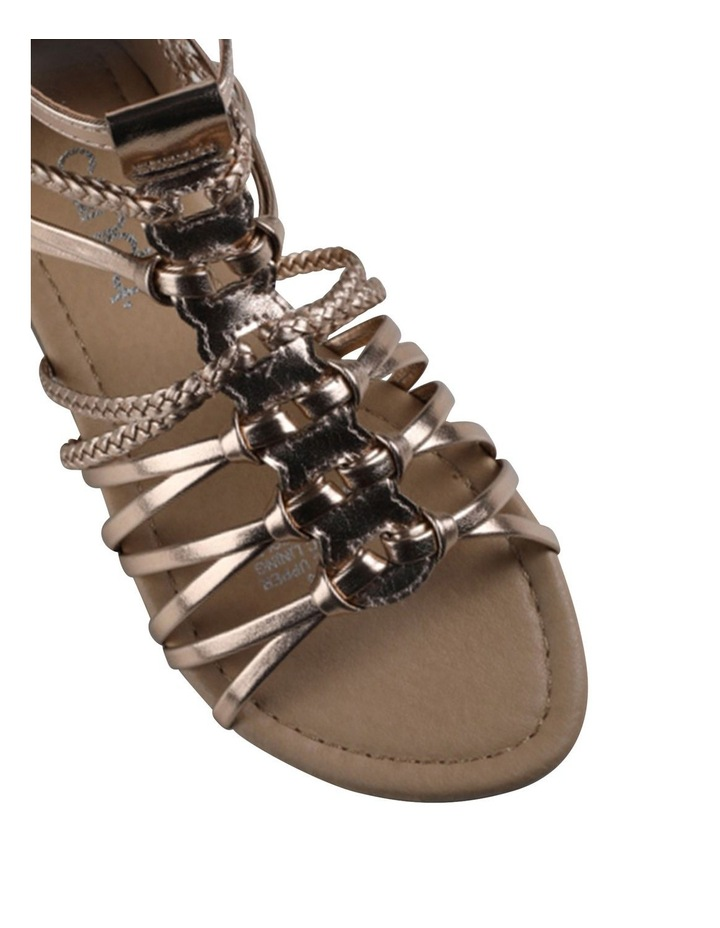 Aria Plait Senior Girls Sandals image 4