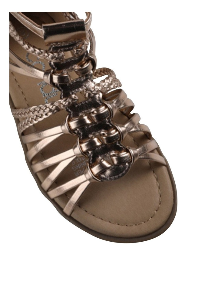 Aria Plait Youth Sandals image 4