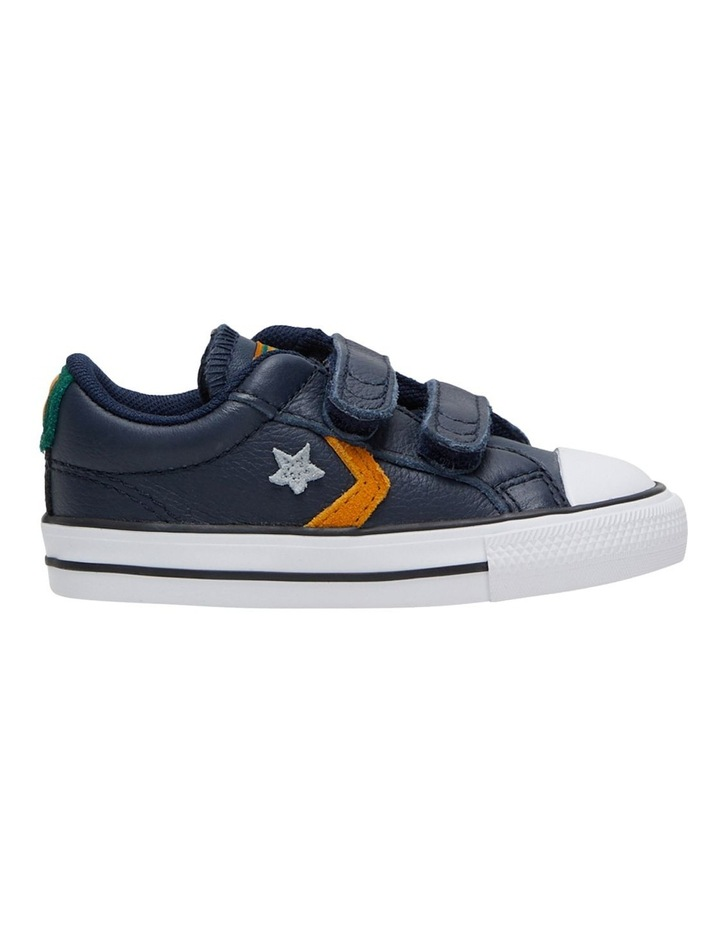 Star Player 2V Leather Youth Boys Sneakers image 1