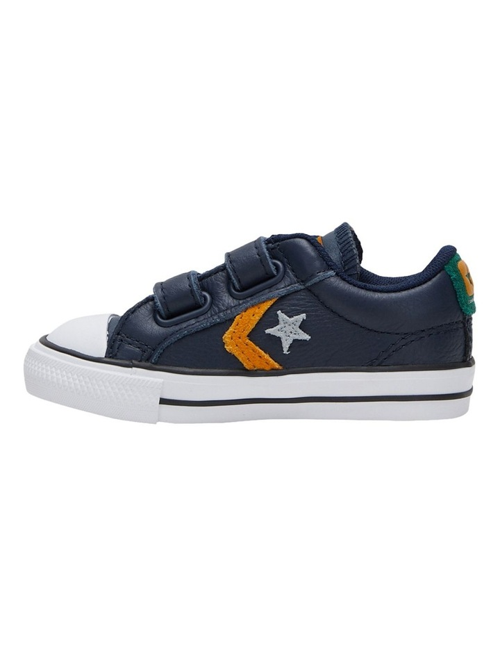 Star Player 2V Leather Youth Boys Sneakers image 3