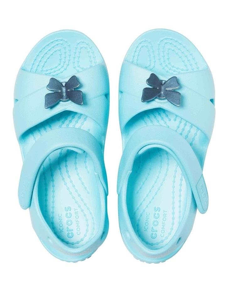Classic Cross Strap Girls Sandals image 3