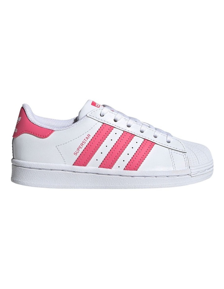 Superstar Foundation Pre School Girls Sneakers image 1