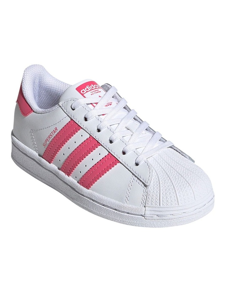 Superstar Foundation Pre School Girls Sneakers image 3