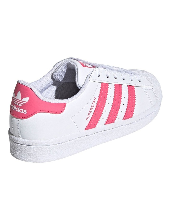 Superstar Foundation Pre School Girls Sneakers image 4