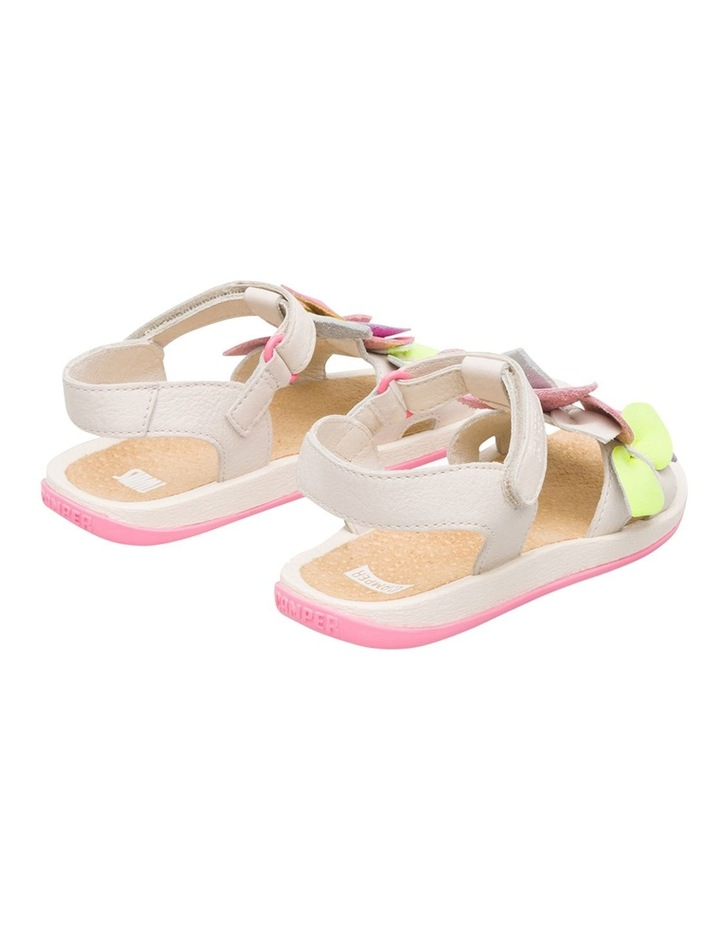 Twins Floral Girls Youth Sandals image 3