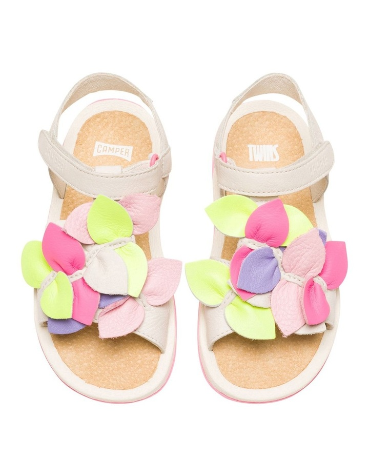 Twins Floral Girls Youth Sandals image 4