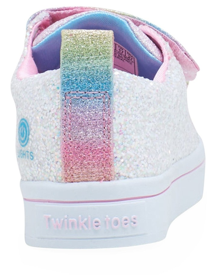 Twinkle Toes Twi-Lite Glitter Youth Girls Sneakers image 2