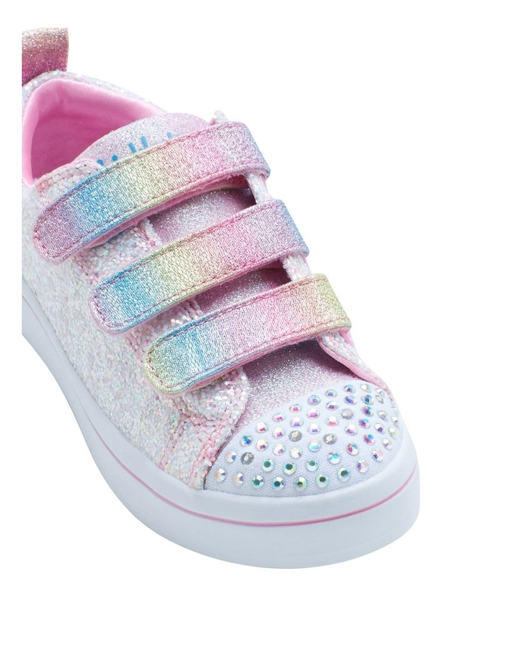 Twinkle Toes Twi-Lite Glitter Youth Girls Sneakers image 4