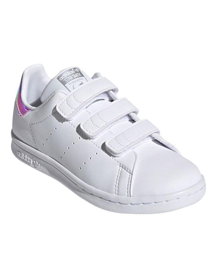 Stan Smith II Self Fastening Pre School Girls Sneakers image 4