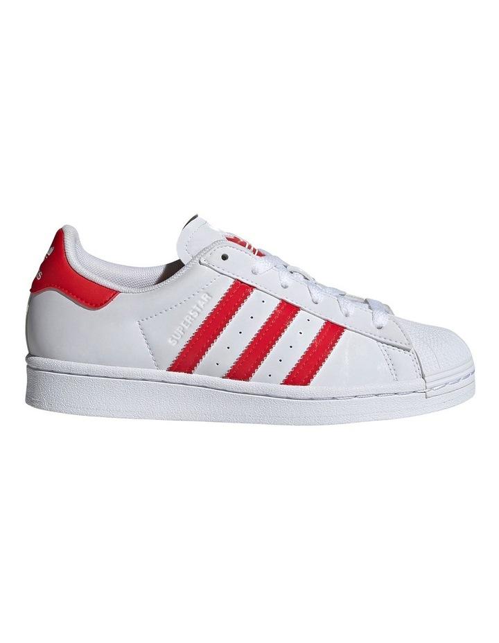 Superstar Heart Grade School Girls Sneakers image 1